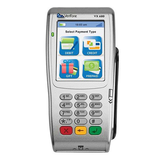 Wireless credit card machines