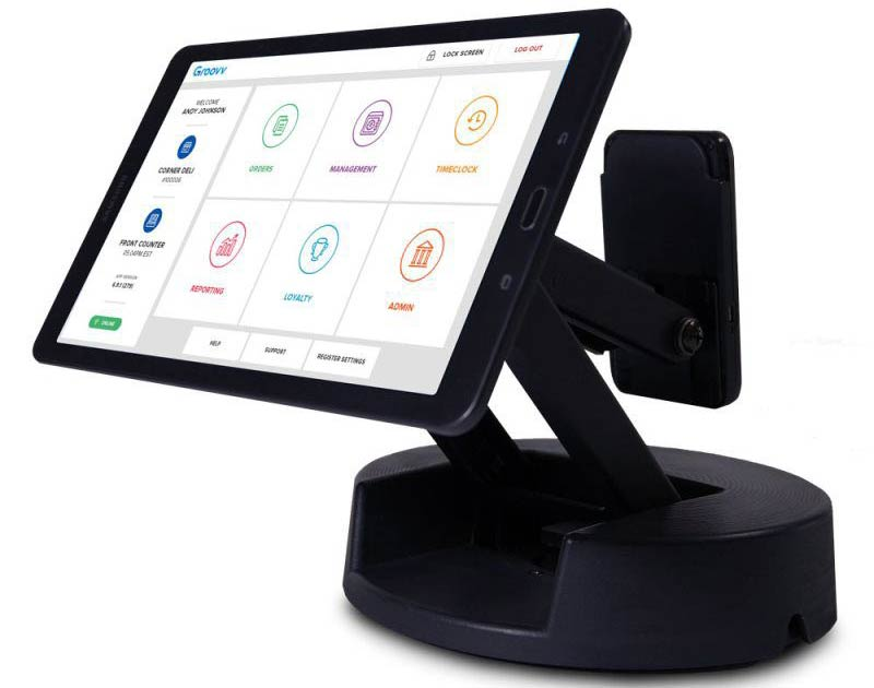 Tablet Point-of-Sale Credit Card Machine